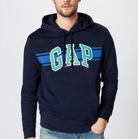 """GAP Sweatshirt """"V-GO ARCH STRIPE PO HD"""" für 26,91€ inkl. VSK"""