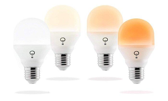 4er-Set LIFX Mini Day & Dusk WiFi E27 LED Lampen für 79,99€ inkl. VSK