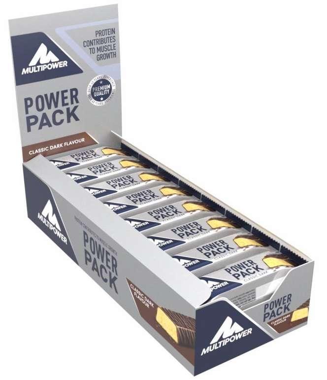 24er Pack Multipower Power Pack Classic Dark Protein Riegel für 7,90€ - Prime