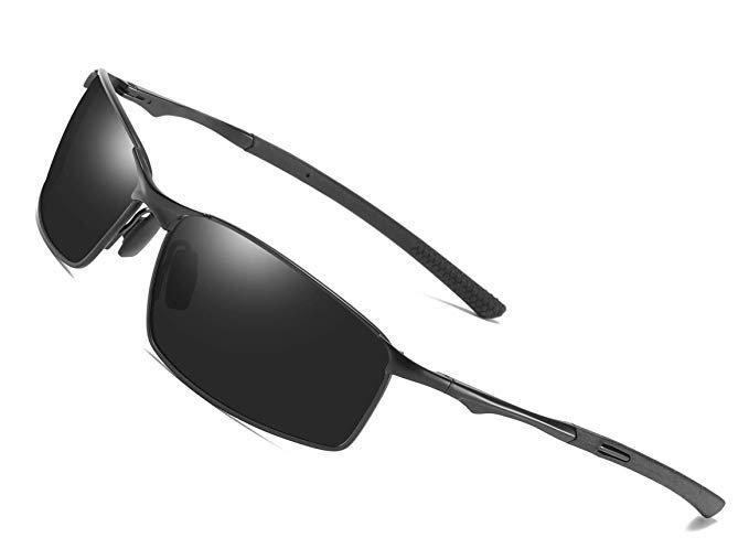 Aoron polarisierte Herren Sonnenbrille mit UV-Schutz in 2 Farben für je 8,79€ inkl. Prime Versand
