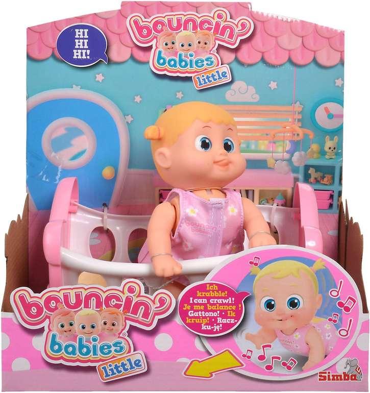 Simba Toys Babypuppe BB Little Bonny mit Wiege für 11,81€ inkl. Versand (statt 18€)
