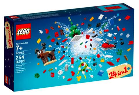 Lego 24-in-1 Weihnachtlicher Bauspaß (40253) für 8,49€ inkl. Versand (statt 13€)