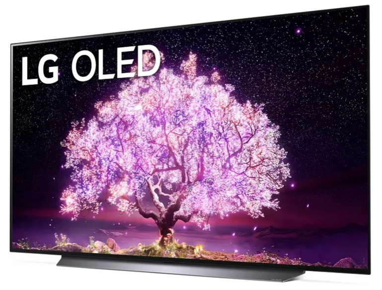 LG OLED77C17LB OLED TV (Flat, 77 Zoll / 195 cm, UHD 4K, SMART TV) für eff. 2.984€ inkl. Versand (Coupon + LG Cashback)