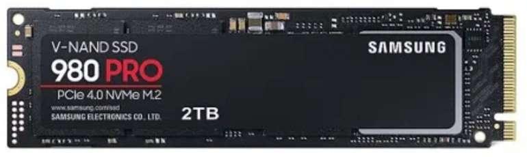 Samsung 980 PRO NVMe SSD M.2 2280 mit 2TB Speicher für 412,99€ inkl. Versand (statt 499€)