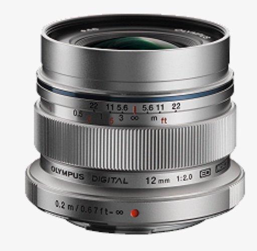 Olympus M.Zuiko Digital ED 12mm F2 MFT Objektiv in silber für 519€ inkl. Versand (statt 579€)