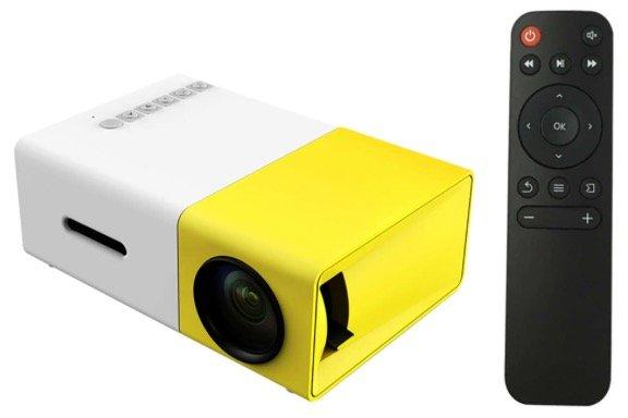 YG300 Mini LED-Projektor (Smartphone/Laptop) für 26,34€ inkl. Versand