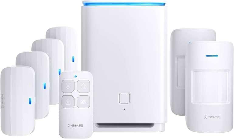 X-Sense Alarmanlage (8tlg. Heimsicherheitssystem, 2km Reichweite, Bewegungssensor) für 113,99€ inkl. Prime Versand (statt 190€)