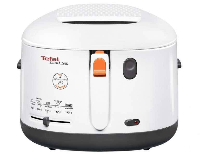 Tefal FF 1631 Fritteuse One Filtra in Weiß/Anthrazit für 44,89€ inkl. Versand (statt 55€)