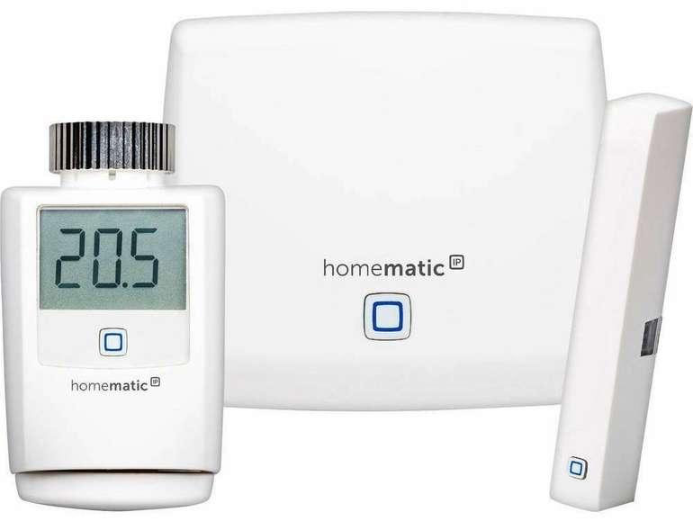 Homematic IP Starterkit Funk-Heizungssteuerung für 79€ inkl. Versand (statt 89€)