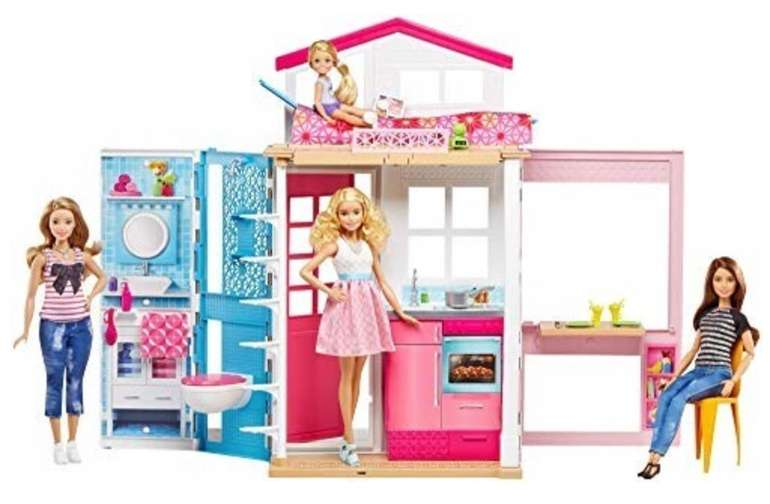 Barbie 2 Etagen Ferienhaus (DVV48) mit 1 Puppe für 39,99€ inkl. Versand (statt 58€)