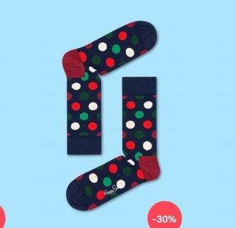 Happy Socks mit 20% Rabatt + keine Versandkosten - z.B. Socken ab 6,30€