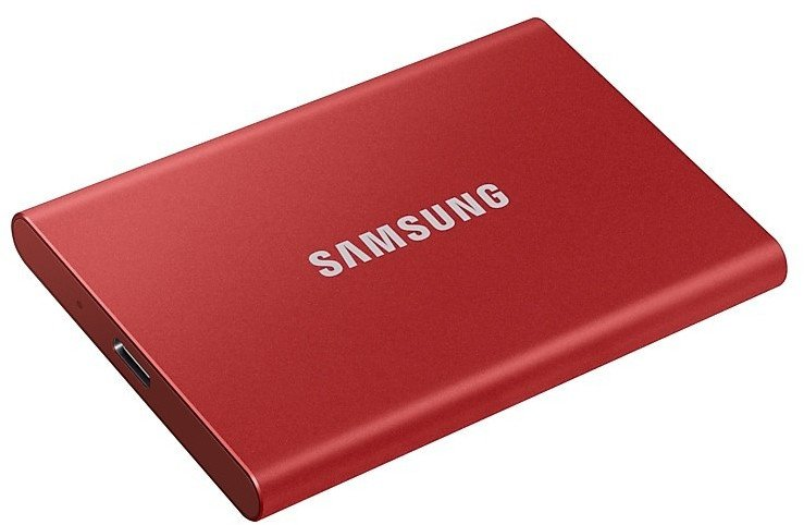 Samsung T7 Portable SSD 500GB mit USB 3.2 für 59,99€ (statt 95€)