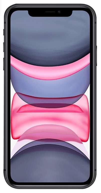 Apple iPhone 11 mit 64GB (4,95€) + o2 free L Allnet Flat mit 60GB LTE Max (bis 225 Mbit/s) für 39,99€ mtl.