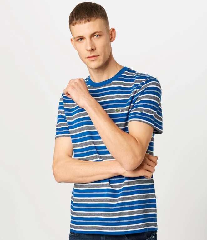 Lacoste Herren T-Shirt mit Streifen für 40,72€ inkl. Versand (statt 57€)