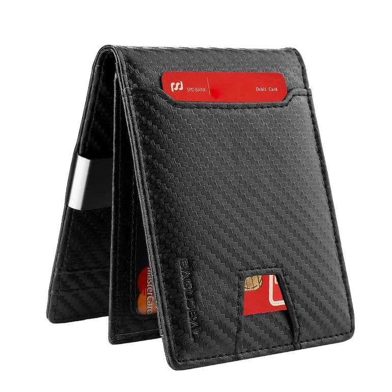 Baglobal Herren Geldbörse mit RFID-Schutz für 11,39€ inkl. Prime Versand