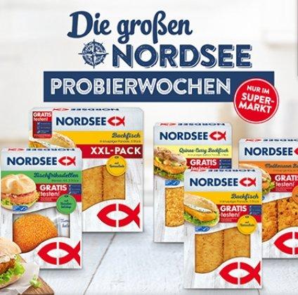 Nordsee Probierwochen: Ausgewählte Fischprodukte gratis testen dank Geld-zurück-Garantie