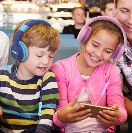 Doppelpack Mpow Kinder Kopfhörer CH1S für 18,99€ inkl. VSK (Prime)