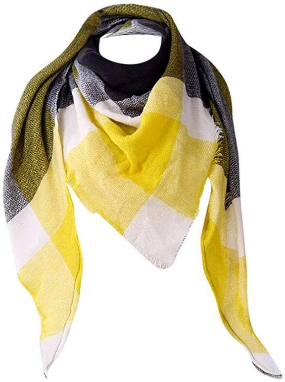 Uribaky karierter Schal in verschiedenen Farben für je 5€ inkl. Versand