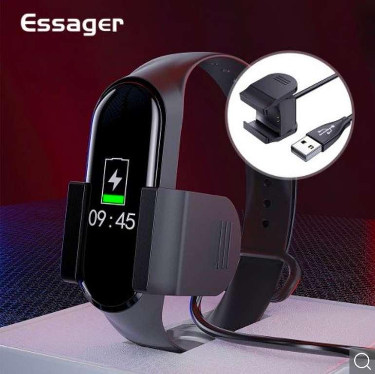 Essager Ladegerät für Xiaomi Mi Band 4 (Band muss nicht entfernt werden) je 0,90€ inkl. Versand (statt 3€)