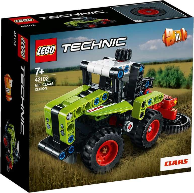 Lego 42102 Technic - Mini CLAAS XERION für 8,79€ inkl. Versand (statt 12€)