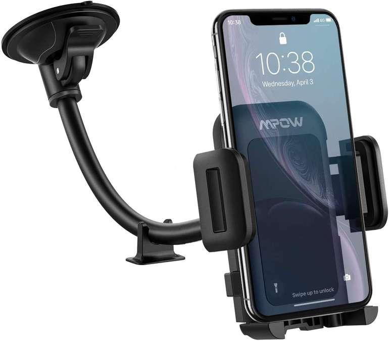 Mpow Windschutzscheiben Handyhalterung für 5,99€ inkl. Prime Versand (statt 10€)