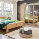 Komplettes Schlafzimmer in Erlefarben (teilmassiv) für 666€ inkl. Versand
