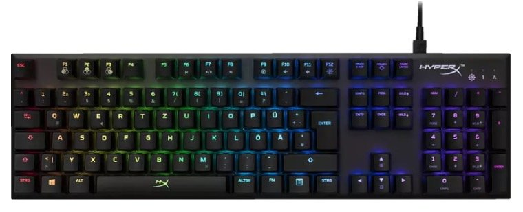 Hyperx Alloy FPS RGB Gaming Tastatur (Mechanisch) für 59€ inkl. Versand (statt 100€)