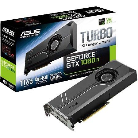 Asus GeForce GTX 1080 Ti Turbo mit 11GB für 549€ inkl. VSK (statt 700€)