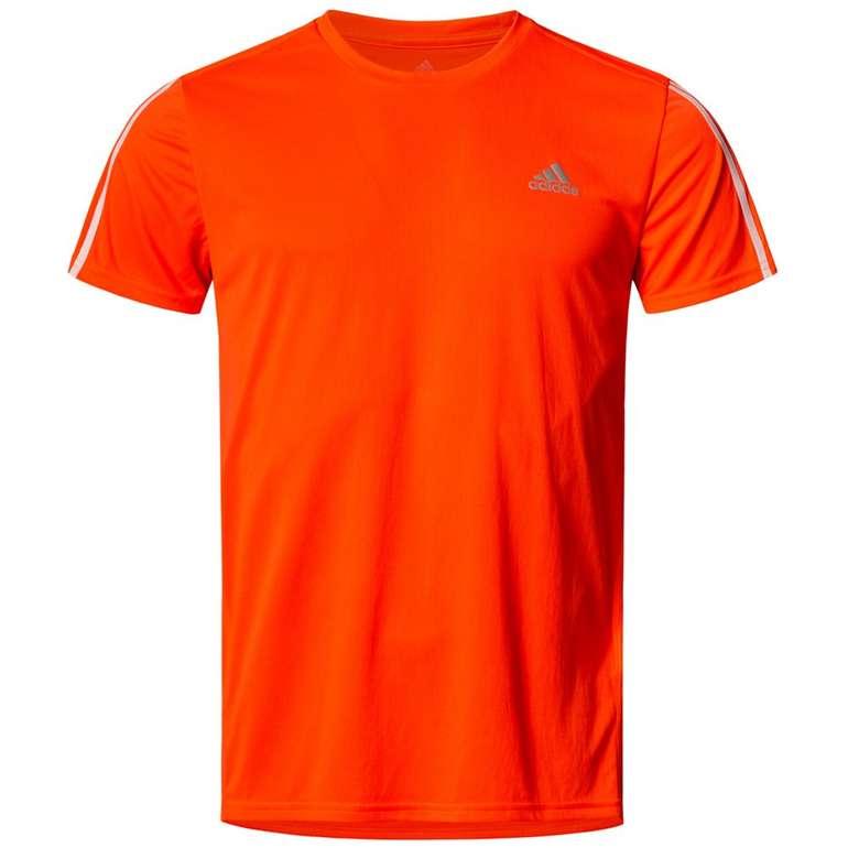 Adidas Running 3 Stripes Herren Laufshirt für 8,90€ inkl. Versand (statt 15€)