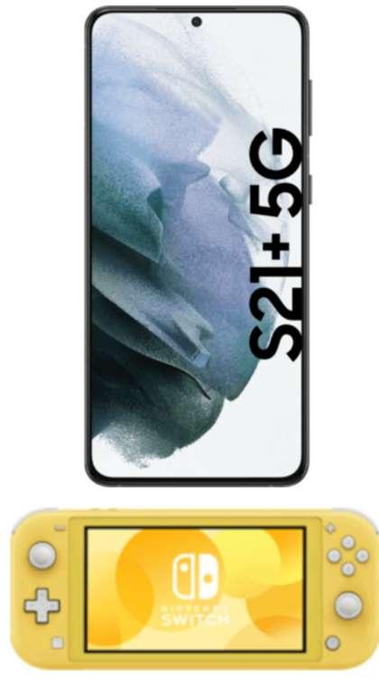 Samsung Galaxy S21+ 5G + Switch Lite (99€) mit MD Vodafone green LTE 18 GB Allnet Flat für 41,99€mtl.