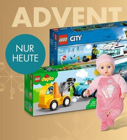 Galeria Adventskalender: 15% Rabatt auf Beauty & Spielzeug
