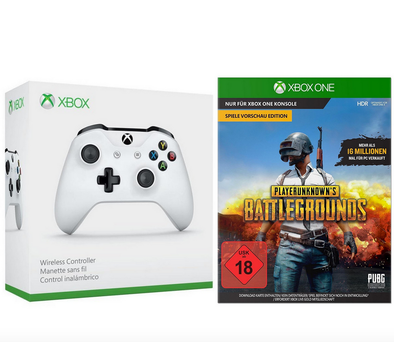 Bundle: Xbox Wireless Controller + PUBG für 47€ inkl. Versand (statt 67€)