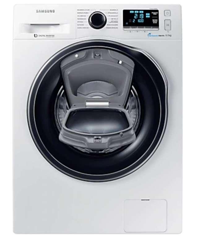 Samsung WW8HK6400QW/EG Waschmaschine (8 kg, 1400 U/Min., A+++) für 429€ inkl. Versand (statt 570€)