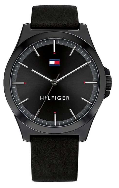 Christ: Tommy Hilfiger Armbanduhren für Damen und Herren zu starken Preisen - z.B Herrenuhr in schwarz für 60€