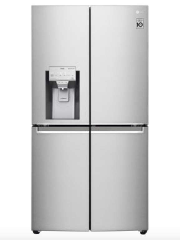LG GMJ945NS9F French-Door-Kühlschrank (365l Kühlen, 273l Gefrieren, Wasser-/Eiswürfelspender) für 1799€