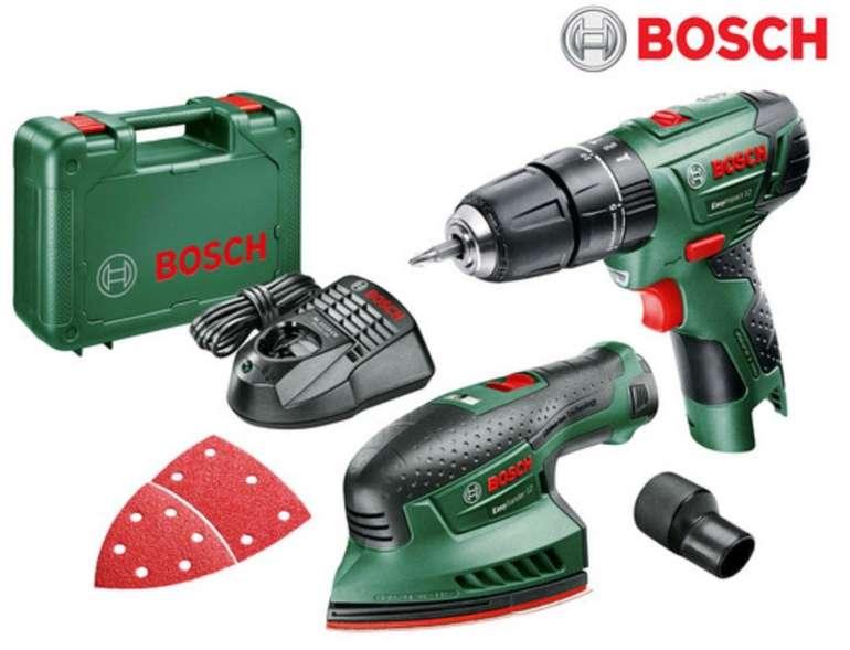 Bosch Easy Impact Schlagbohrmaschine + EasySander Schleifmaschine für 95,90€