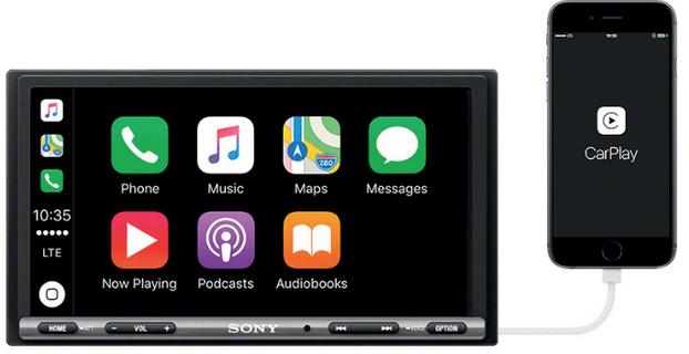 Sony XAV-AX 3005 Autoradio 2 DIN (Android/Apple, DAB+,55W) für 299€ (statt 345€)