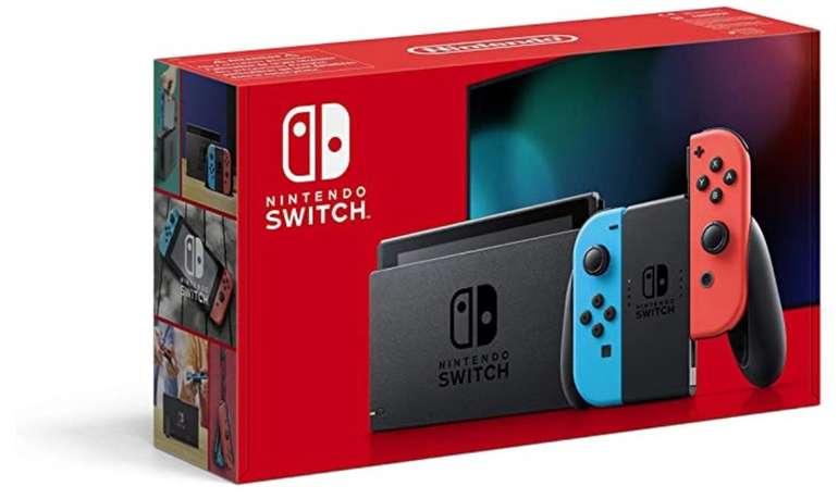 Nintendo Switch Konsole (neue Edition) für 298,01€ inkl. Versand (statt 334€)