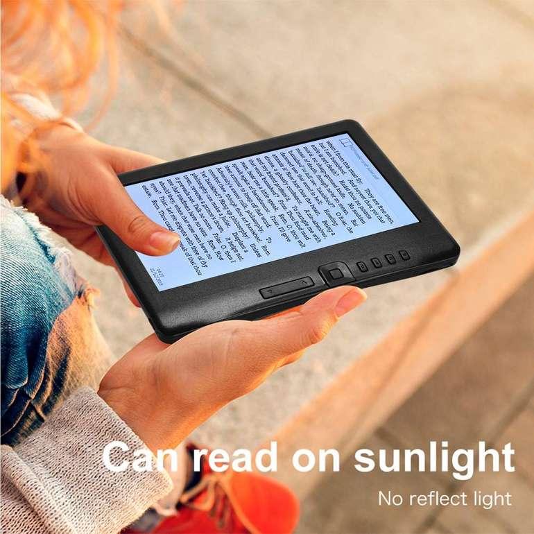 """Aibecy K7019 - 7"""" E-Book Reader mit 4GB Speicher & Hintergrundbeleuchtung für 45,49€"""