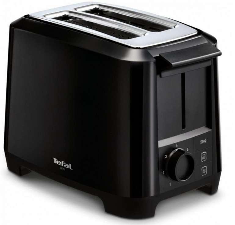 Tefal Uno TT1408 Toaster mit 800 Watt für 23,90€inkl. Versand (statt 33€)