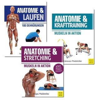 Anatomie und Sport-Bundle - Buchpaket (3 Bücher) für 9,99€ (statt 35€)