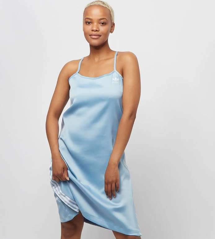 Adidas Adicolor Damen Satin Kleid für 27,99€ inkl. Versand (statt 38€)