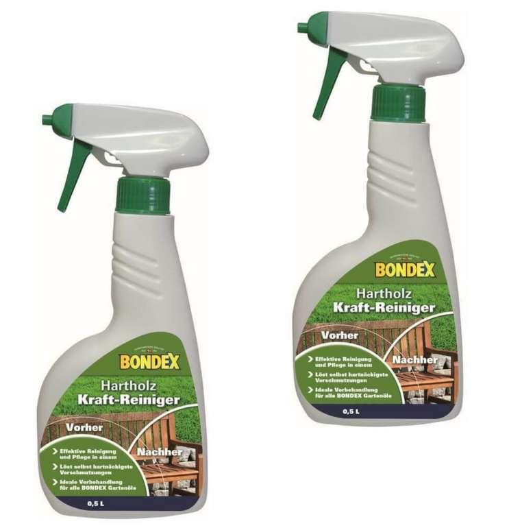 Bondex Hartholz-Kraftreiniger (2x 0,5) für 14,95€inkl. Versand (statt 20€)