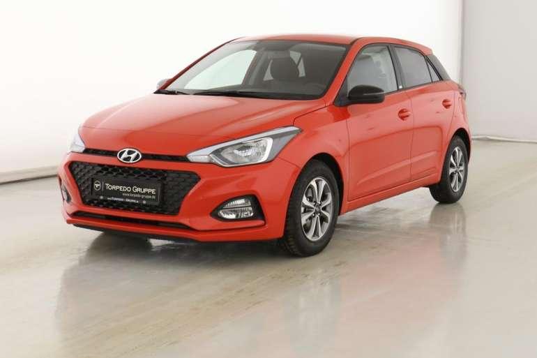 Privat: Hyundai i20 YES! mit 84 PS für 60,99€ Brutto mtl. leasen (LF: 0,37)