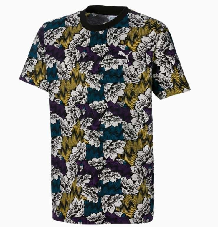 Puma Allover-Print Kinder T-Shirt in 2 Farben für je 10,88€ inkl. Versand (statt 29€)