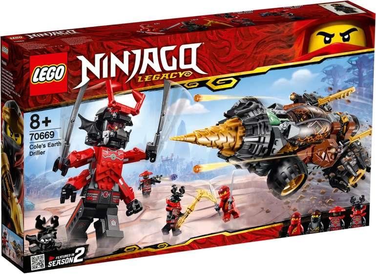 LEGO 70669 Ninjago - Coles Powerbohrer für 47,98€ (statt 71,99€)