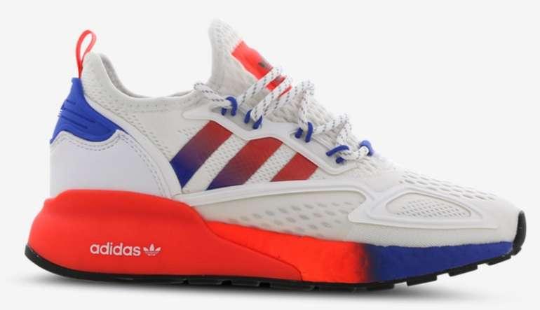 Foot Locker Sale mit bis zu 50% Rabatt + VSKfrei ab 29,99€ - z.B. adidas ZX 2K Boost GS Sneaker für 79,99€