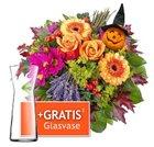 Lidl Blumen mit 13% Rabatt + Versandkostenfrei + evtl. gratis Vase beim Strauß