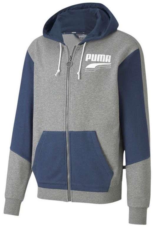 Puma Freizeitjacke Rebel Block FZ Hoody TR in 2 Farben für je 35,95€ inkl. Versand