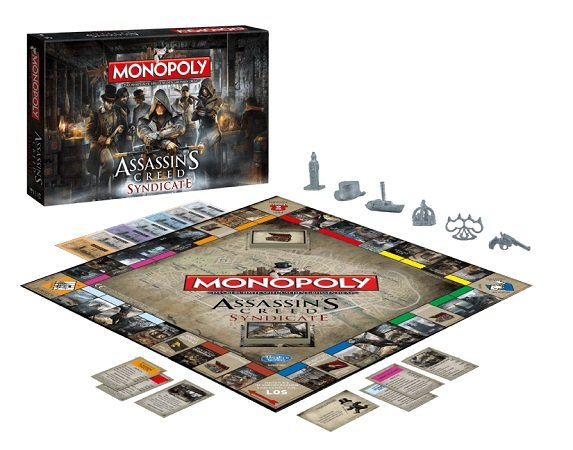 WINNING MOVES Monopoly Assassin's Creed Syndicate Gesellschaftsspiel für 21,99€